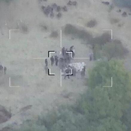 UÇBEYin ilk kez kullanıldığı operasyonda gri listedeki terörist vuruldu