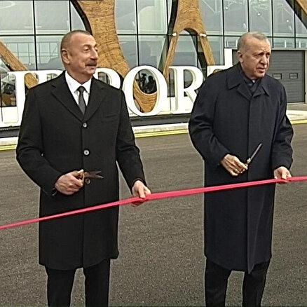 Fuzuli Uluslararası Havalimanı açıldı