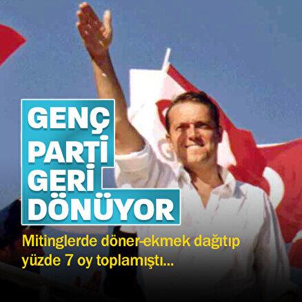 Cem Uzanın kardeşi Hakan Uzan Genç Partinin genel başkanı oldu