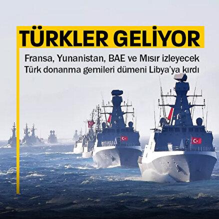 Türk Deniz Kuvvetleri Libya açıklarında dev bir tatbikata hazırlanıyor