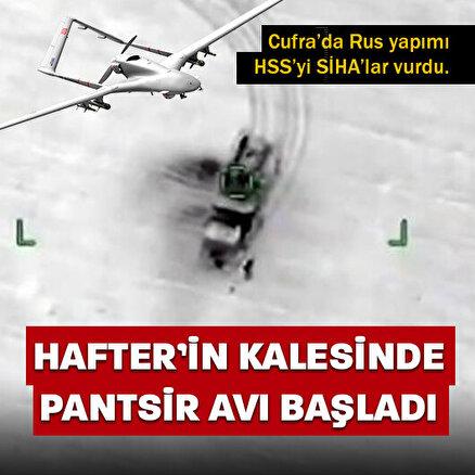 SİHAlar Cufra Hava Üssü yakınlarında Pantsir-S1 sistemini imha etti: 3 Rus paralı askeri öldü