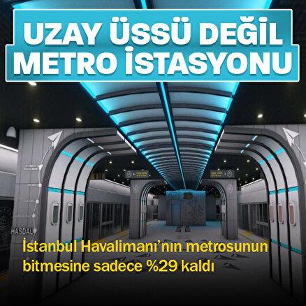 Türkiyenin ilk insansız hızlı metrosunun yüzde 71i tamamlandı: Devasa bir yeraltı şehri inşa ediliyor
