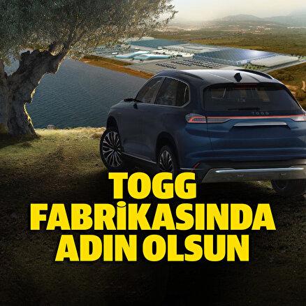 TOGG, Türkiyeyi tarihe iz bırakmaya davet ediyor
