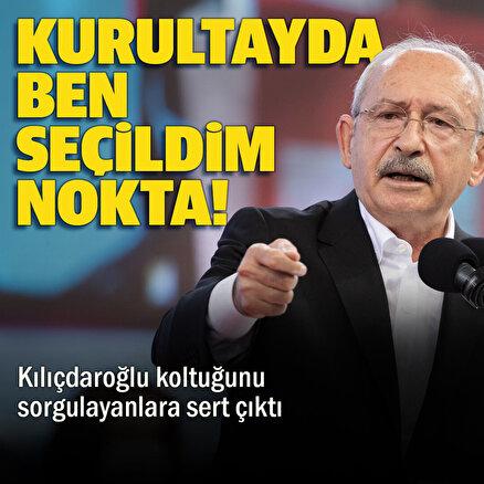 CHP lideri Kılıçdaroğlu kurultay sonrası partisini çok sert uyardı: Polemik istemiyorum
