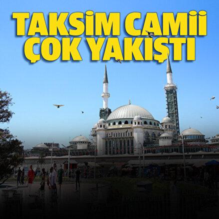 Açılışına sayılı günler kaldı: Taksim Camiinin yüzde 65i tamam