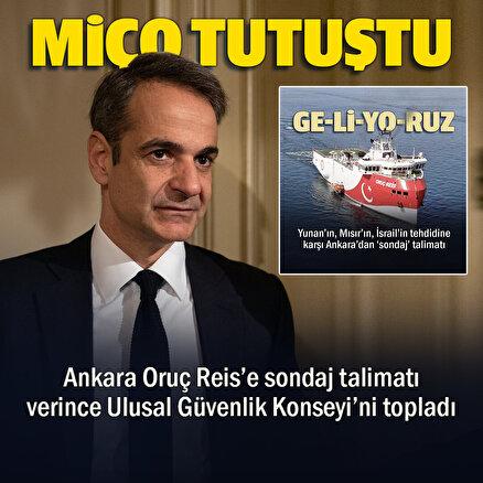 Türkiyenin yeni NAVTEX ilanının ardından Yunanistanda Ulusal Güvenlik Konseyi toplanıyor