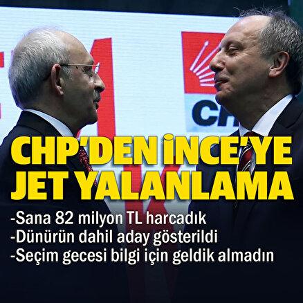 CHPden İncenin tüm iddialarına yalanlama: Dünürü bile aday oldu