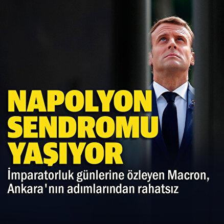 Macron imparatorluk hezeyanlarıyla Napolyon sendromu yaşıyor