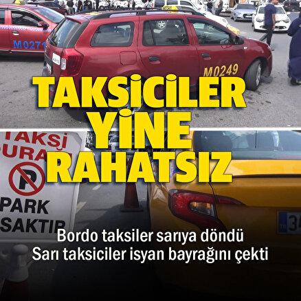 Bordo taksiler İstanbula yolcu götürebilecek: Sarı taksiciler ise karara tepkili
