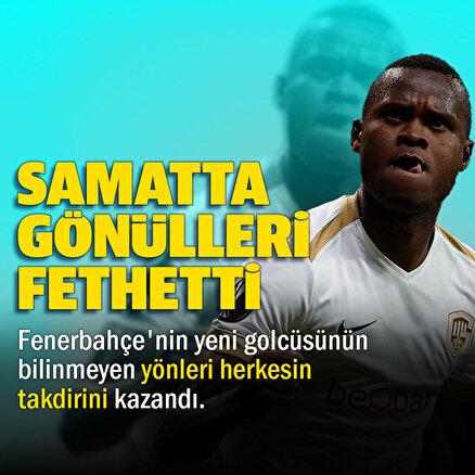 Fenerbahçenin yeni transferi Samatta gönülleri mest etti