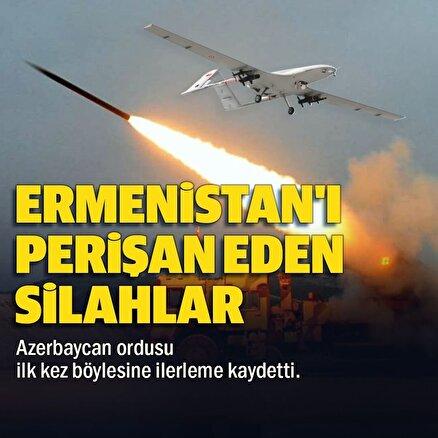 Ermenistanı perişan eden silahlar: Azerbaycan ordusu ilk kez bu kadar güçlü