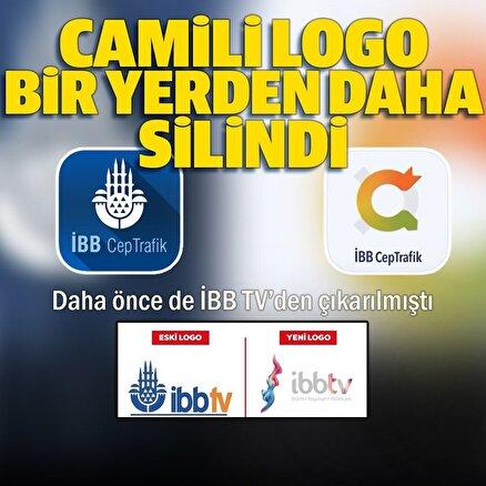 İBB TVnin ardından İBB Cep Trafikte de cami logosu çıkarıldı