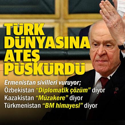 MHP Genel Başkanı Devlet Bahçeli: Bu suskunluk, bu durgunluk Türk'e yakışıyor mu?