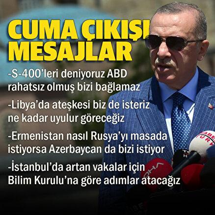 Cumhurbaşkanı Erdoğan: İstanbul salgında en önde gelen illerimizden biri, Bilim Kuruluna göre kararlar alacağız