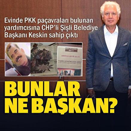Şişli Belediye Başkanı Keskinden PKK operasyonunda gözaltına alınan yardımcısına destek