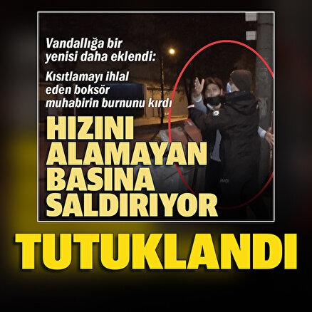 Bursada basın mensubuna saldıran maganda tutuklandı