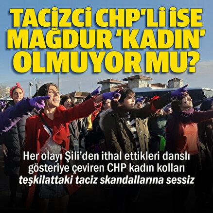 CHP Kadın Kolları taciz iddiaları karşısında sessizliğe gömüldü