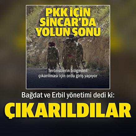 Terör örgütü PKK Sincarı tamamen terk etti