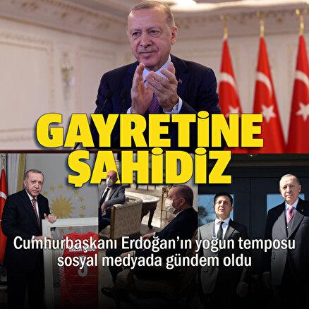 Cumhurbaşkanı Erdoğanın baş döndüren 24 saati