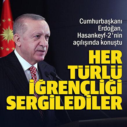 Erdoğan tarihi açılışta konuşuyor