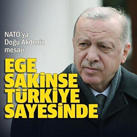 Ege sakinse Türkiye sayesinde