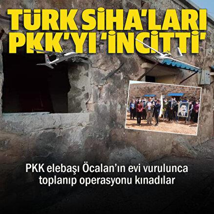 Türk SİHAları PKKyı incitti: Terör seviciler toplanıp operasyonu kınadı