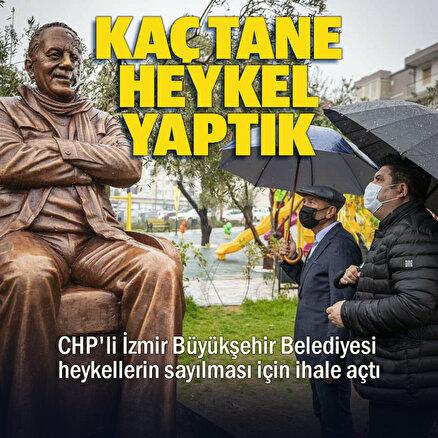 CHPli İzmir Belediyesinden bir icraat daha: Kentteki heykeller tek tek sayılacak