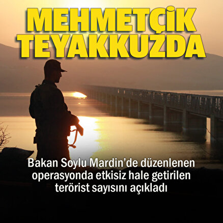 Mehmetçik teyakkuzda