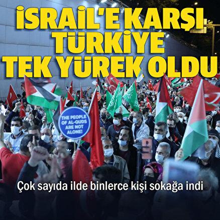 İsraile karşıTürkiye tek yürek
