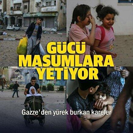 İşgalci İsrail Gazzeyi acımasızca bombalıyor: Masum çocuklar korku içinde yaşıyor