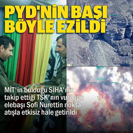 MSB PKKnın Suriye sorumlusunun öldürüldüğü operasyon görüntülerini paylaştı