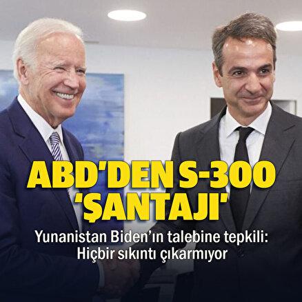Yunanistandan S-300lerin kaldırılmasını isteyen ABDye tepki: Hiçbir sıkıntı çıkarmıyor