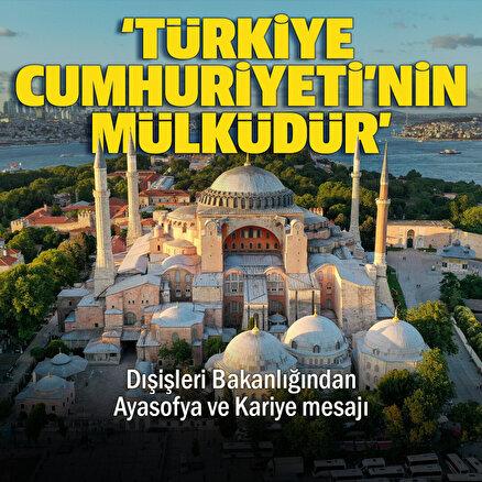 Türkiye Cumhuriyetinin mülküdür