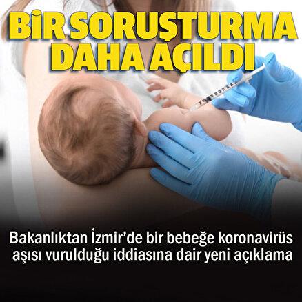 Bebeğe yanlış aşı iddiasına bir soruşturma daha
