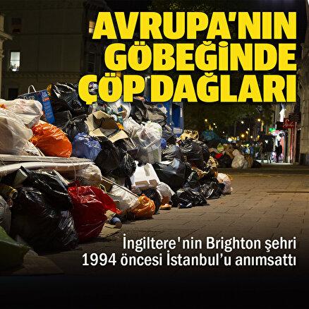 Avrupanın göbeğinde çöp dağları: 1994 öncesi İstanbulu anımsattı