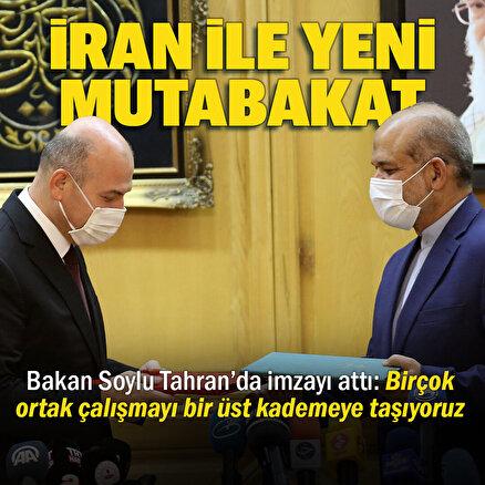 Türkiye İran ile mutabakat imzaladı: Terörle mücadelede birlik vurgusu