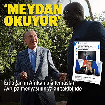 Rus medyası: Erdoğan Afrikada 2. Dünya Savaşı galiplerine meydan okudu