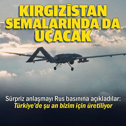 Kırgızistan Türkiyeden SİHA satın aldığını açıkladı