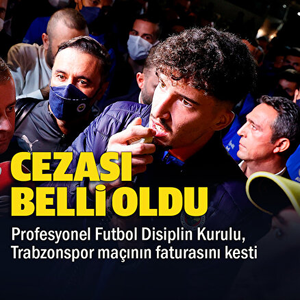 PFDK derbinin faturasını açıkladı: Sevk edilen futbolcuların cezaları belli oldu