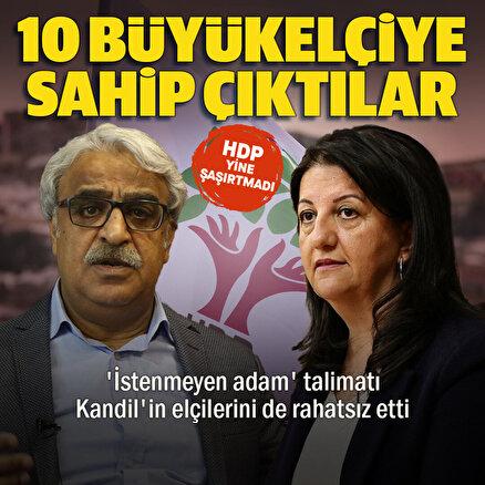 Cumhurbaşkanı Erdoğanın 10 büyükelçi talimatı HDPyi rahatsız etti