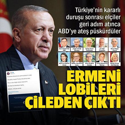 Ermeni lobisinden ABDye büyükelçi tepkisi: Burası lise sınıfı değil Türkiyeye jet yok