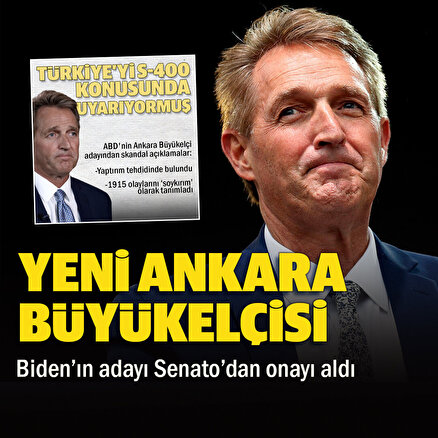 Bidenın adayı Ankaraya büyükelçi atandı