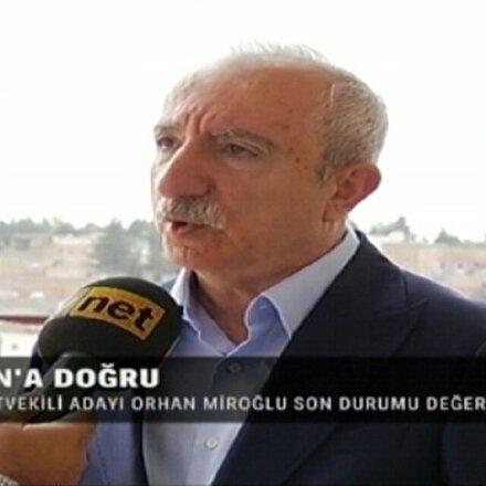 TVNET ve Yeni Şafak seçim otobüsünün konuğu Orhan Miroğlu