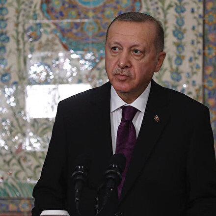 Cumhurbaşkanı Erdoğan, Cezayirde konuşuyor