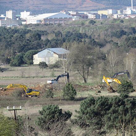 Cumhurbaşkanı Erdoğanın açıkladığı Sancaktepedeki hastanenin yapımına başlandı