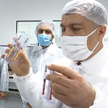 Bakan Koca, Cumhurbaşkanı Erdoğana müjdeyi verdi: Yerli aşıda insan üzerinde deneme aşamasına geçildi