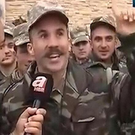 Azerbaycanlı askerin duygulandıran hayali