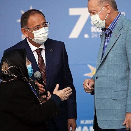 Safiye Teyzenin Cumhurbaşkanı Erdoğan'a sözleri gülümsetti: Damadına benim için bir sarıl