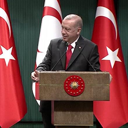 Cumhurbaşkanı Erdoğandan Ersin Tatara: Kapalı Maraşta piknik yapalım