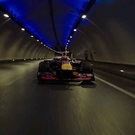 Vali Yerlikaya, Formula 1 aracının Avrasya Tünelinden geçtiği görüntüleri paylaştı: Ses ve görüntü harika...